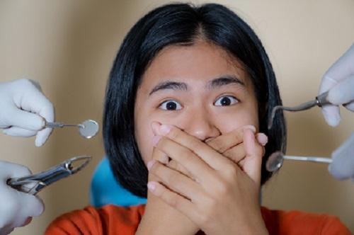 פחד מרופא השיניים